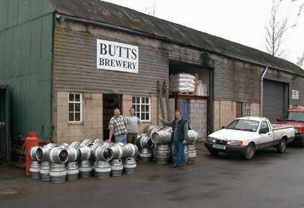 Butts Brewery - outside